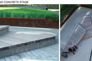 timber and concrete stage.png - Roman Gardens, Castlefield