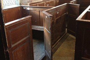 Pews reconstruction S Aisle 2.JPG.jpg - A new arts space at St Mary's Old Church