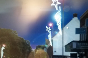 Old Milton Road.jpg - Old Milton Christmas Stars