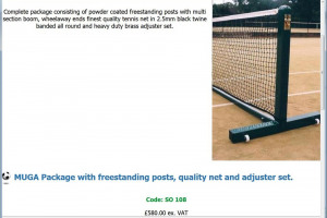 Posts, Net etc..jpg - Burghead Tennis