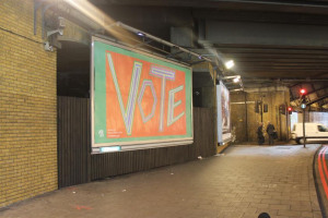 westminister-bridge-rd-london-bob-roberta-smith.jpg - Vote Art Lewisham