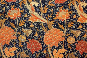 cray.jpg - William Morris Steam Print