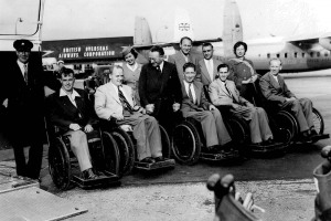 bw-115-boac-passengers.jpg - Paralympic Heritage learning tools