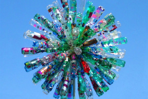 Dandelion.jpg -  Dandelion - a wind bottle sculpture