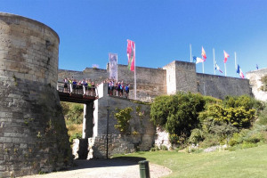 william-the-conqueror-s-castle-caen-full-group-photo-danny-gee.jpg - Pisa to Rome 2018