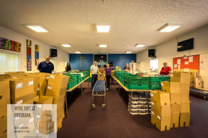 ready-to-pack-100-boxes.jpg - Wyre Forest Foodbank Christmas Special
