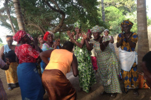 Shumba Community drum circle and party