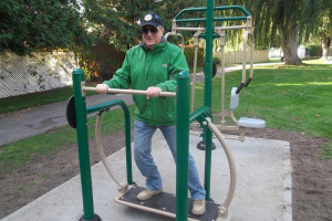 older-man-on-fitness-trail.jpg - Harraby Community Fitness Park & Trail