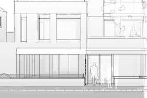 brochure-line-drawing-frontage.jpg - Cricklewood Library