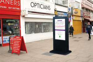 digitalsign-online.jpg - Our Kilburn - Digital Noticeboard