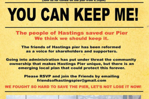Hastings Pier Community Ownership Bid