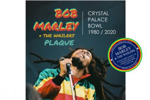 Bob Marley Plaque at Crystal Palace Bowl