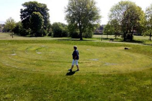 Labyrinth bringing Harmony to Community