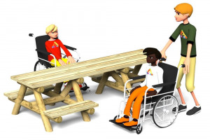 accessible-picnic-table.jpg - Improving Stewkley Recreation Ground