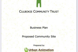Business Plan cover page with border.jpg - Creating a heart for Culbokie village