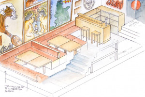 drawing-shop-basement.jpg - Japanese Tea House in York