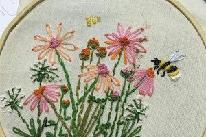 amyembroidery.jpg - #whoseheritage  A Heart of Hackney Park