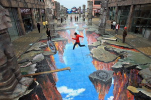 street-chalk-art-optical-illusion-6.jpg - Neat Streets