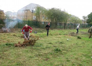 volunteers working in the reserve; much conservation work is undertaken by volunteers; photo credit Gillian Brown.jpg