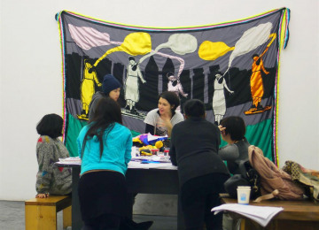 gu-nes-terkol-workshop-with-female-participants-in-organ-haus-china-to-collectively-create-the-banner-dreams-on-the-river-2011-embroidery-on-fabric-215-x-286-cm-courtesy-the-artist.jpg
