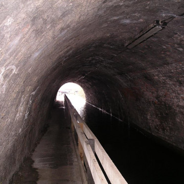 Ashted Canal Tunnel Lighting, Birmingham