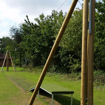 New zipwire for Great Chesterford