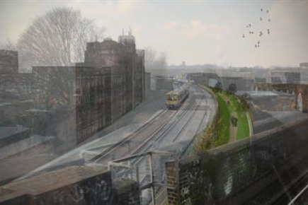 Project Image for The Peckham Coal Line urban park