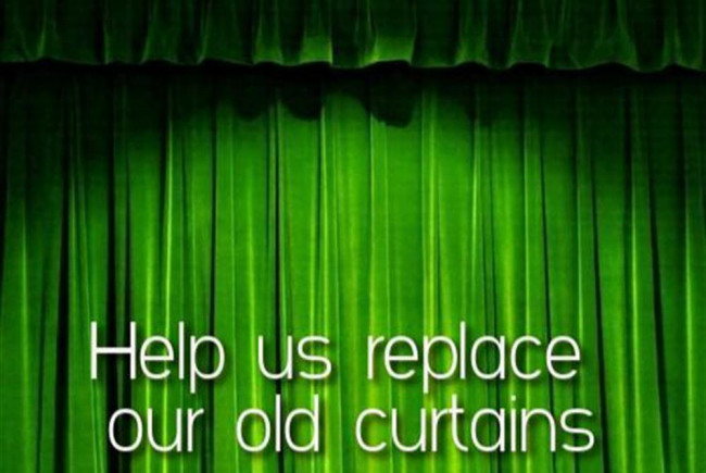 Henfield Hall Stage Curtains