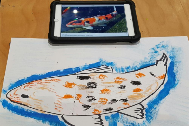 Netpark Wellbeing digital art course
