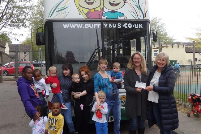 Buffy Playbus Sensory Den