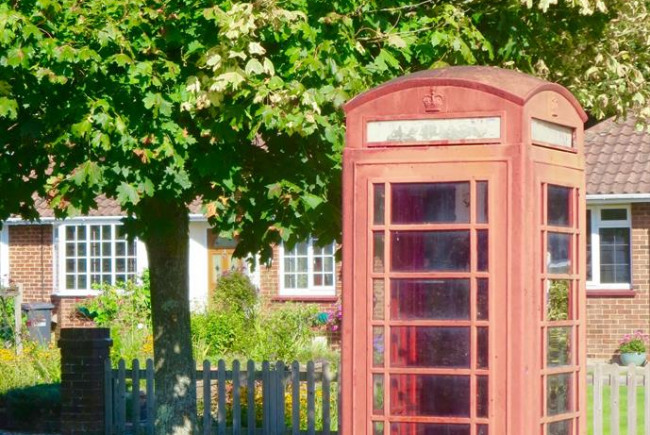 Blackhouse Lane Phone Box Renovation