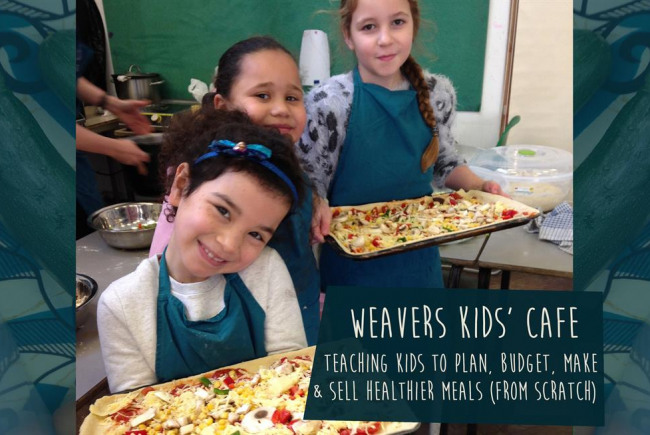 Weavers Kids Cafe and Community Pizzeria