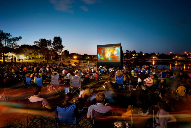 Hamworthy Park Outdoor Cinema