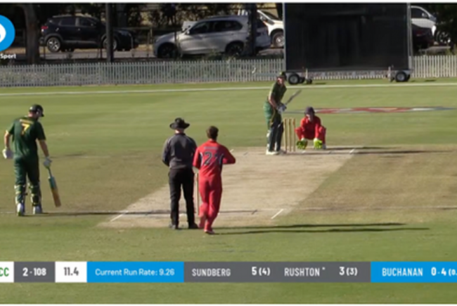 Live Stream Moreton Cricket Club Matches