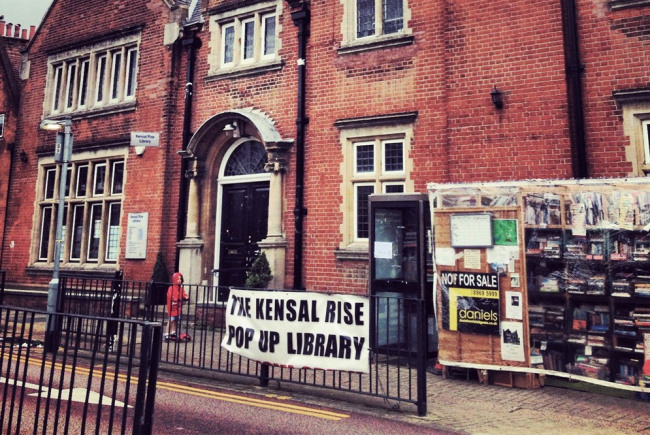 Kensal Rise Pop-Up Library