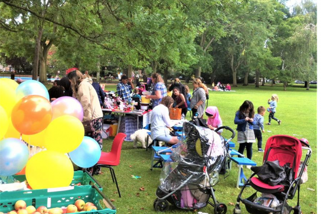 Community Party in The Park