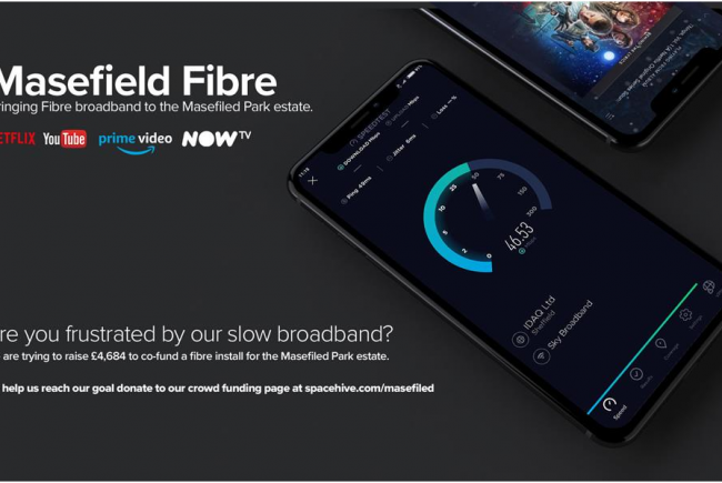 Fibre Broadband for Masefield Park
