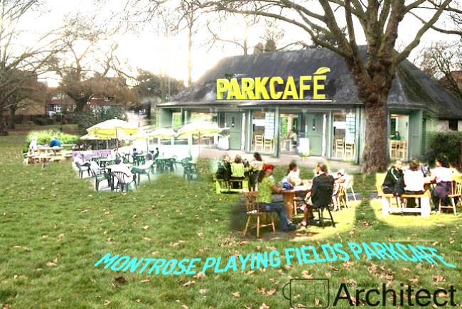 Give Montrose Playing fields a Cafe