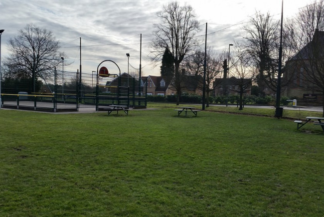 The Vyne Field Outdoor Gym
