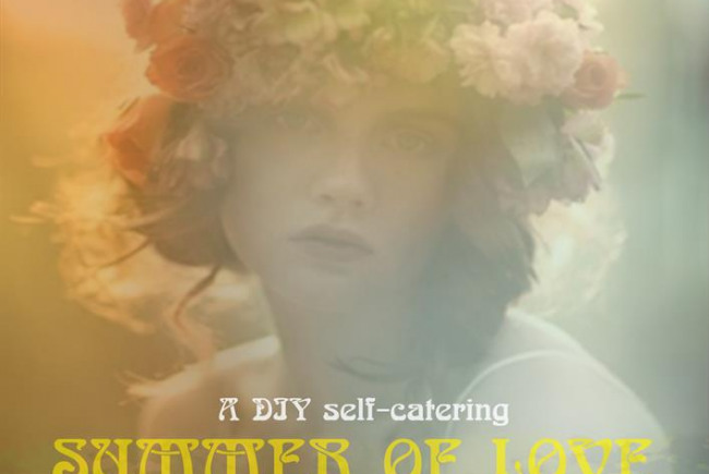 A DIY self-catering SUMMER OF LOVE 50th