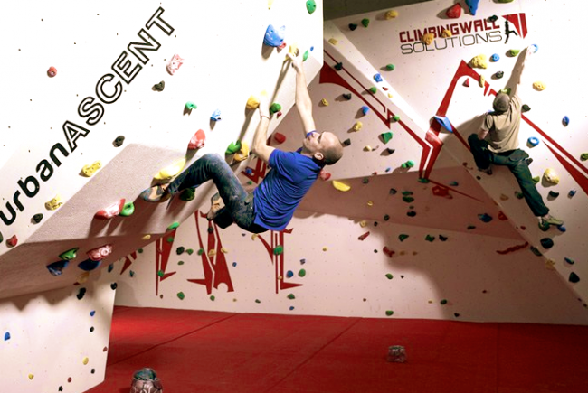 Build a bouldering room at Minehead EYE!