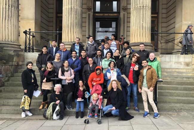 Liverpool Walk and Talk for Refugees