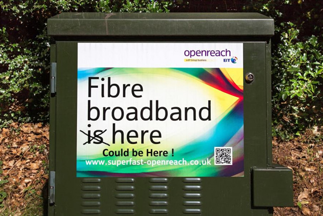 Nine Elms Swindon Openreach Fibre Expand