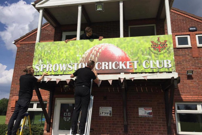 Build the Balcony @ Sprowston CC