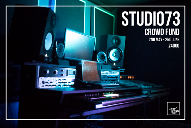 Community recording studio in Hackney