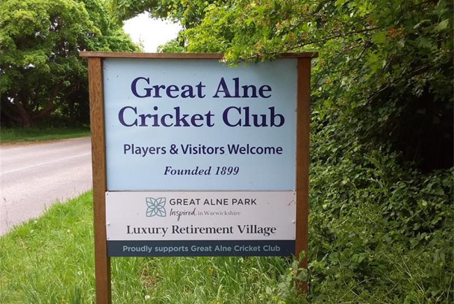 Maintain Great Alne Cricket Club