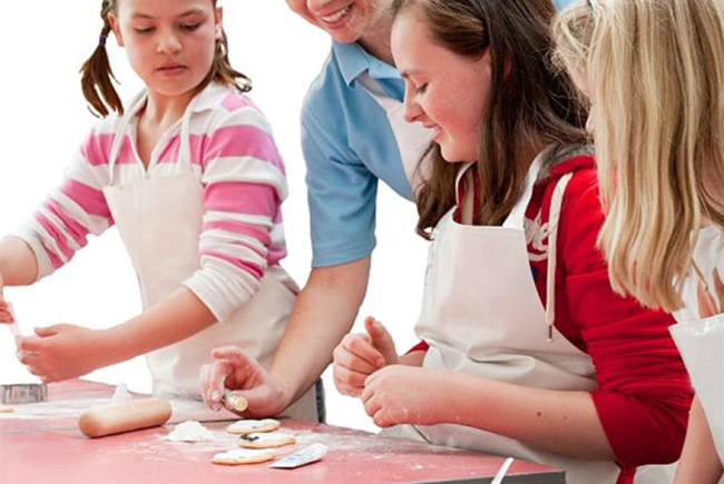 Healthy Cookery Lessons for Schools