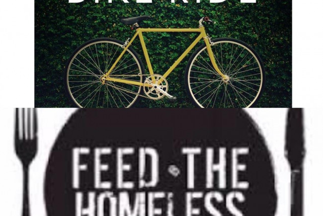 Let's Ride & Feed the homeless