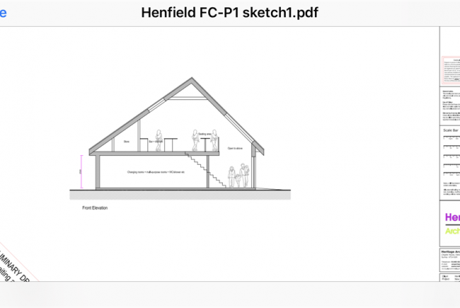 Henfield Community Football Club House
