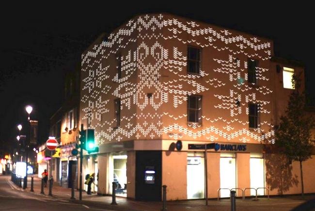 bedminster christmas light art